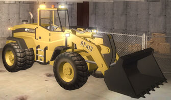 Bulldozer - front right in Saints Row 2