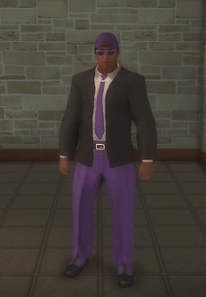 Gang Customization - Bodyguards - male lieutenant 2 - black2 variant