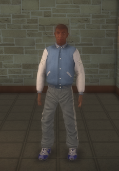 Gyros - black generic - character model in Saints Row 2