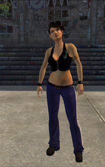 Lin - character model in Saints Row