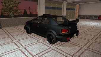 Saints Row variants - Voxel - Racer 02 - rear left