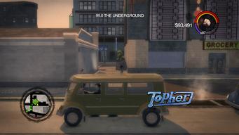 Topher - left in Saints Row 2