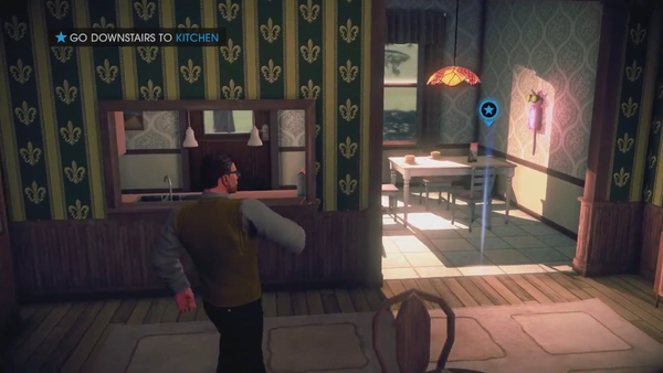 A Pleasant Day - go to kitchen - Saints Row IV Gameplay Preview