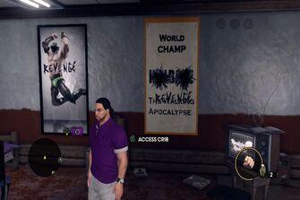 Angel's Gym - revenge posters