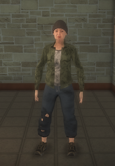 Bum - white female hats - character model in Saints Row 2