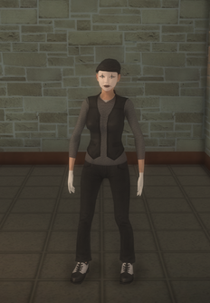 Mime - female white - character model in Saints Row 2