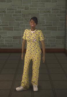 Nurse - black yellow - character model in Saints Row 2