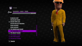 Valve Clothing Pack tf2 mask 2 engineer