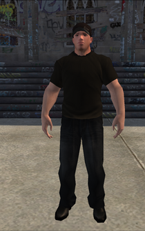 Bouncer - White Security - character model in Saints Row