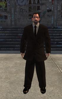 BusinessMan - DowntownLoanShark - character model in Saints Row