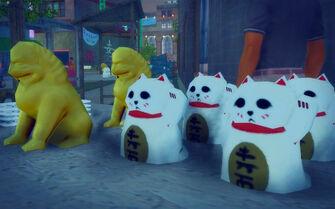 Little Shanghai - waving cats