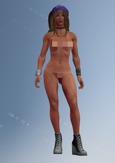Shaundi - unused - character model in Saints Row IV