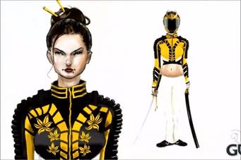 The Ronin concept art - female
