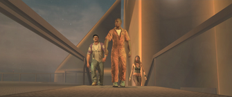 ... and a Better Life outro - Playa, Pierce and Shaundi walking to the helipad