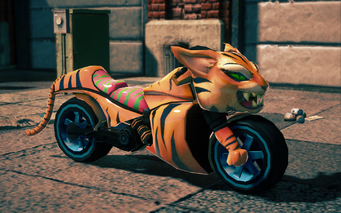 Angry Tiger - front right in Saints Row IV