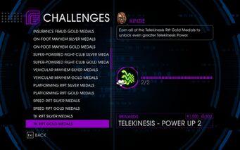 Challenge 27 TK Rift Gold Medals