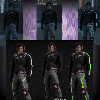 Deckers outfit customisation