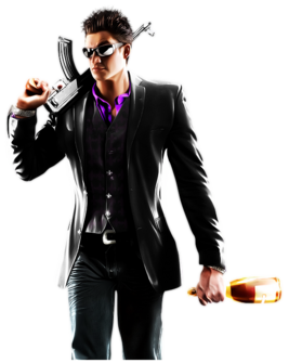 Playa promo art Saints Row The Third