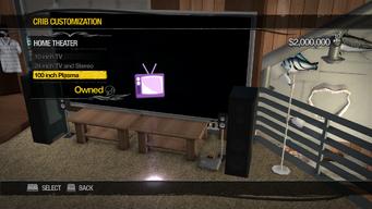 Prison Lighthouse - Crib Customization - Home Theater - 100 inch Plasma