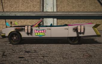 Saints Row IV variants - Genkimobile Average m04 - left