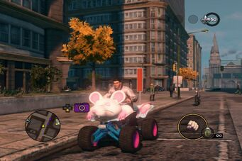 Verminator - front left in Saints Row The Third