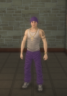 Carlos - character model in Saints Row 2