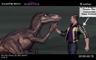 Escape the Dominatrix - Velociraptor and Playa