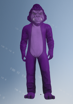 Gang Customization - Mascot 9 - Gorilla - in Saints Row IV