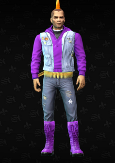 Gang Customization - Punk 2 - Juan - in Saints Row The Third