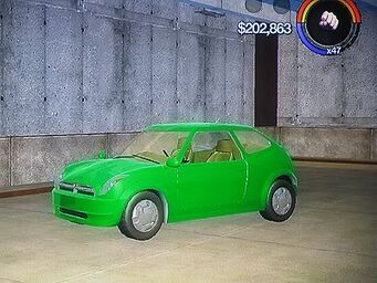 Halberd - front left inside in Saints Row 2