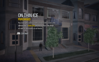 On Thin Ice in Nob Hill purchased in Saints Row 2