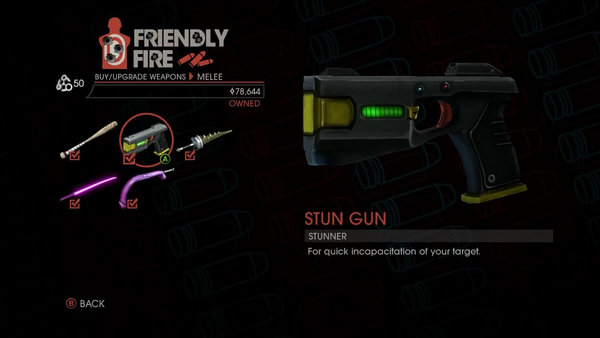 Weapon - Melee - Stun Gun - Main