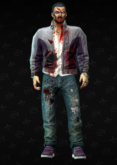 Zombie Gat - character model in Saints Row The Third