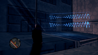 Audio Log in-game