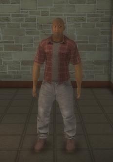 Construction - black generic - character model in Saints Row 2