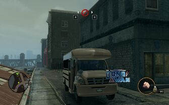 DonoVan - front with logo in Saints Row The Third