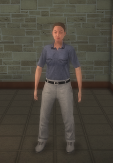 EMT - white generic female - character model in Saints Row 2