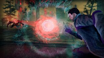 Forcefield in Saints Row IV promo