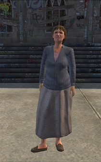 MiddleAge female 01 - white - character model in Saints Row
