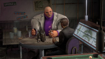 Oleg and Josh Birk in the Broken Shillelagh in Saints Row IV