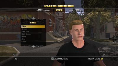Player Customisation - Eye Colour