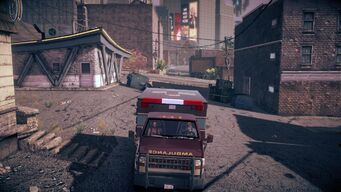 Ambulance - front in Saints Row IV