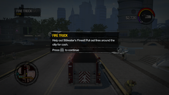Fire Truck tutorial in Saints Row 2