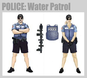 Saints Row 2 Water Patrol Concept Art