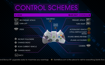 Saints Row IV Aircraft Controls 2