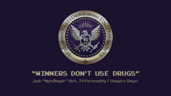 Saints of Rage winners dont use drugs