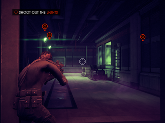 The Case of Mr. X - Shoot out the Lights objective