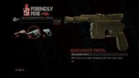 Weapon - Pistols - Quickshot Pistol - Main