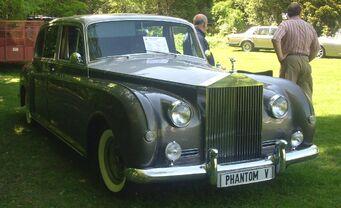 Baron - 1968 Rolls-Royce Phantom V in real life