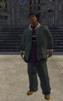 Dex - character model in Saints Row